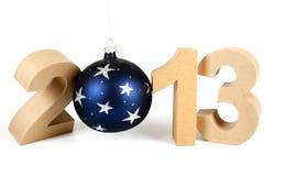 2013 dans les numéros 3D de papier Image libre de droits