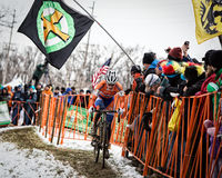 2013 de Kampioenschappen van de Wereld Cyclocross Royalty-vrije Stock Foto's