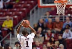 2013 der Basketball NCAA-Männer - Freiwurf Stockfoto
