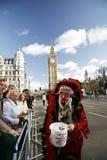 2013, desfile del día de Años Nuevos de Londres Foto de archivo