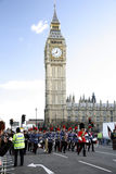 2013, desfile del día de Años Nuevos de Londres Foto de archivo libre de regalías