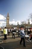 2013, desfile del día de Años Nuevos de Londres Imagen de archivo libre de regalías