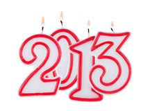2013 digits Royalty Free Stock Images