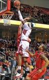2013 el baloncesto de los hombres del NCAA - tiro Fotografía de archivo