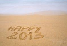 2013 felice. Fotografia Stock Libera da Diritti