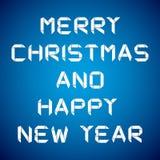2013 Felices Año Nuevo, tarjeta de la Feliz Año Nuevo Imagenes de archivo