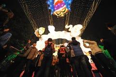 2013 festival di lanterna cinesi a Chengdu Immagini Stock Libere da Diritti