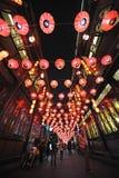 2013 festival e templi di lanterna cinesi dell'nuovo anno giusti Immagine Stock