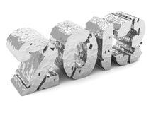 2013 foil lettering Stock Images