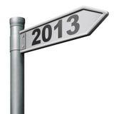 2013 folgendes neues Jahr Stockbild