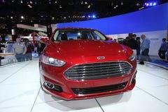 2013 Ford Fusion Titanium Stock Photo