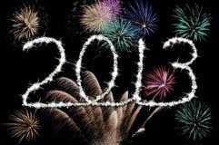 2013 Gelukkig nieuw jaar Stock Afbeelding