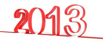 2013 Gelukkig Nieuwjaar Royalty-vrije Stock Foto's