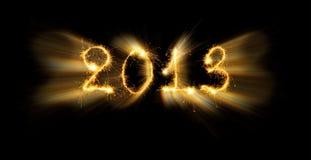 2013 hanno fatto delle scintille Immagini Stock