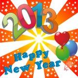 2013 happy new year Royalty Free Stock Photo