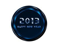 2013 happy new year. Happy new year 2013 on a white background Stock Photo