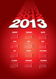 2013 happy new year background. Calendar Stock Images
