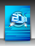 2013 Happy New Year background. EPS 10. Royalty Free Stock Photo