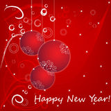 2013 Happy New Year card Stock Photo