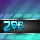 2013 Happy New Year greeting card. EPS 10 Stock Photo