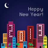 2013 Happy New Year, vector Royalty Free Stock Photos