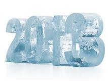 2013 helado Imagen de archivo libre de regalías