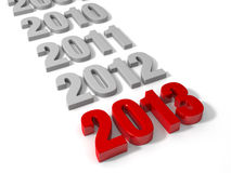 2013 is Here! Stock Photos
