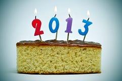 2013, het nieuwe jaar Stock Afbeelding
