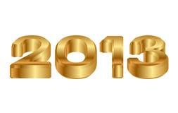 2013 ikona Zdjęcie Stock