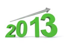 2013 illustration Stock Image