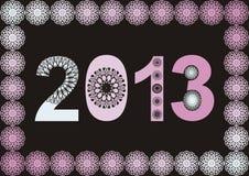 2013 inramar Royaltyfria Foton