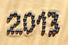 2013 Inscription Royalty Free Stock Image