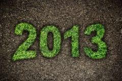2013 Jahr Stockfotografie