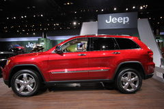 2013 Jeep Grand Cherokee. 111-th Chicago auto show Royalty Free Stock Images