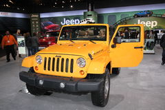 2013 Jeep Rubicon Royalty Free Stock Images