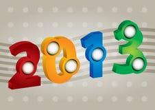 2013 Kaart Stock Fotografie