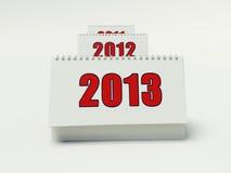 2013 kalendarz Zdjęcie Stock