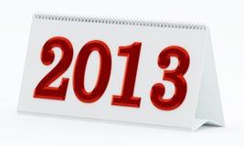 2013 kalendarz Zdjęcia Stock