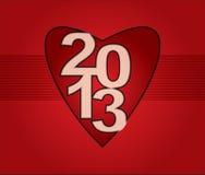 2013 karta Zdjęcie Stock
