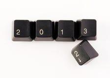 2013 komt Stock Afbeelding