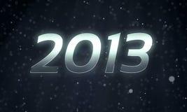 2013 l'nuovo anno Fotografie Stock Libere da Diritti