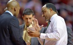 2013 la pallacanestro degli uomini del NCAA - primo allenatore Fotografia Stock