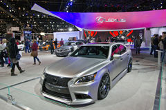2013 Lexus IS F Sport. May be used to advertise for upcoming car shows or for the sale of a car royalty free stock photo