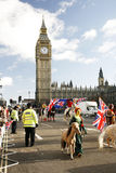 2013, London New Years Day Parade Royalty Free Stock Images