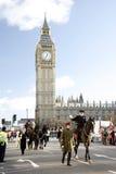 2013, Londyńscy nowy rok dzień parady Zdjęcia Royalty Free
