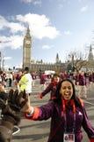2013, Londyńscy nowy rok dzień parady Zdjęcie Royalty Free