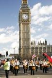 2013, Londyńscy nowy rok dzień parady Obrazy Royalty Free