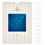 2013 loose-leaf calendar Royalty Free Stock Images