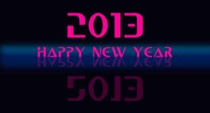 2013 lyckliga nya år stock illustrationer