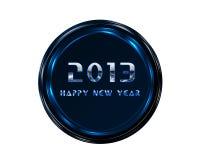 2013 lyckliga nya år vektor illustrationer